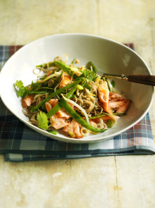 Salmon Stir-Fry with Soba recipe