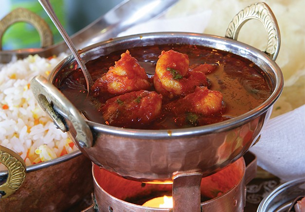 Impulse Prawn Curry recipe