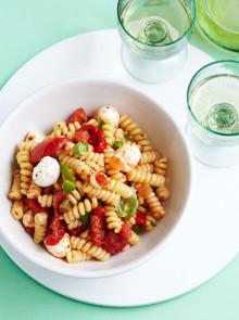 Italian inspiration pasta salad recipe