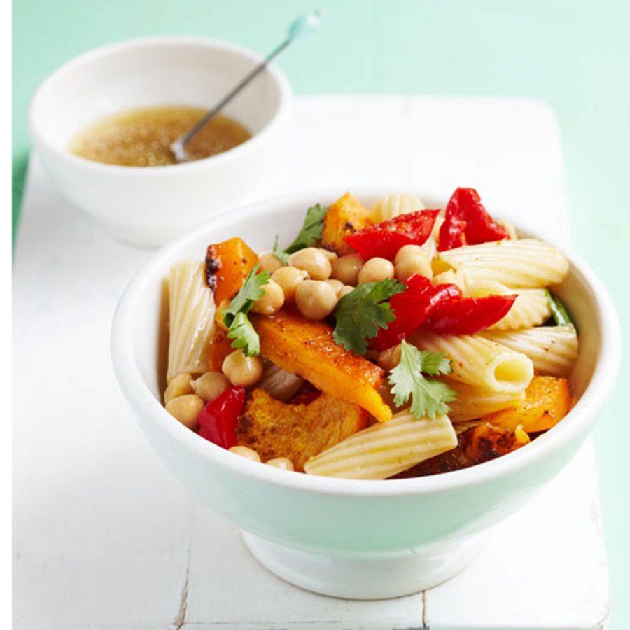 Moroccan squash pasta recipe