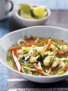 Healthy Prawn Noodle Bowl recipe