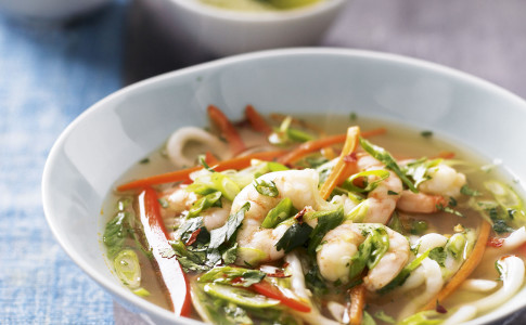 Healthy Prawn Noodle Bowl recipe