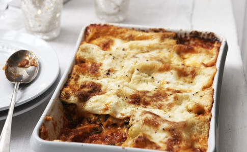 Squash and ricotta cannelloni with Taleggio recipe
