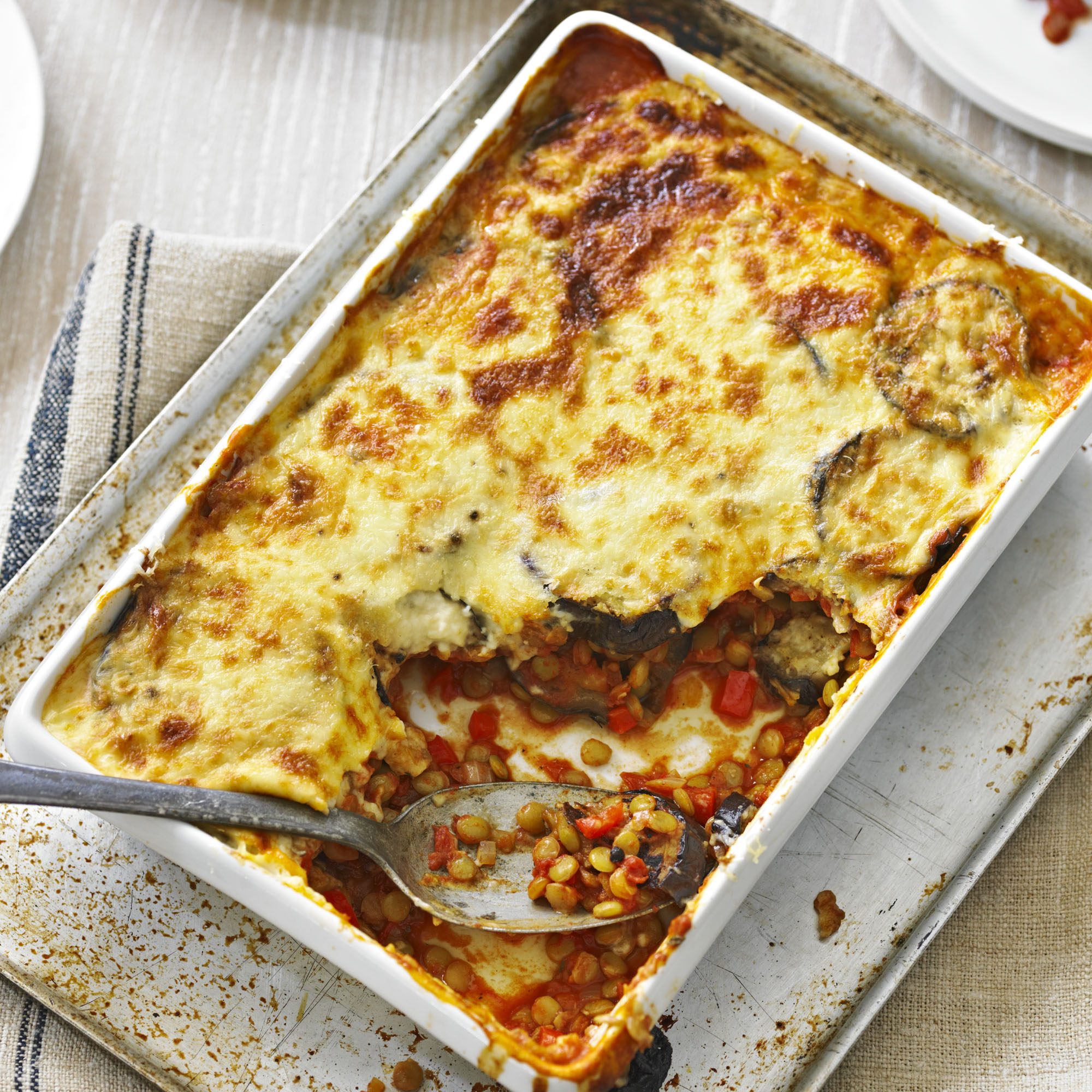 Vegetarian Moussaka Recipe Woman And Home Sa