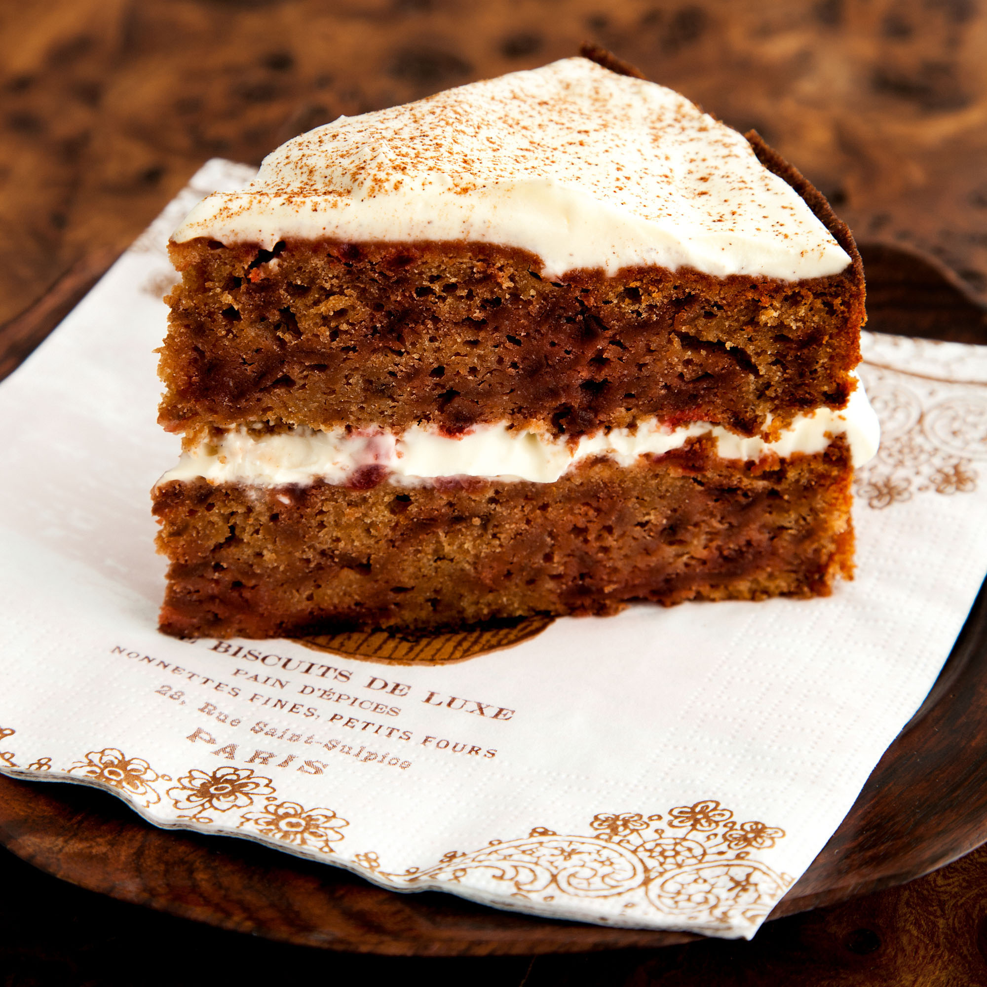 Spiced beetroot cake with mascarpone recipe