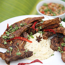 Yoshan's Masala Braai Chops recipe