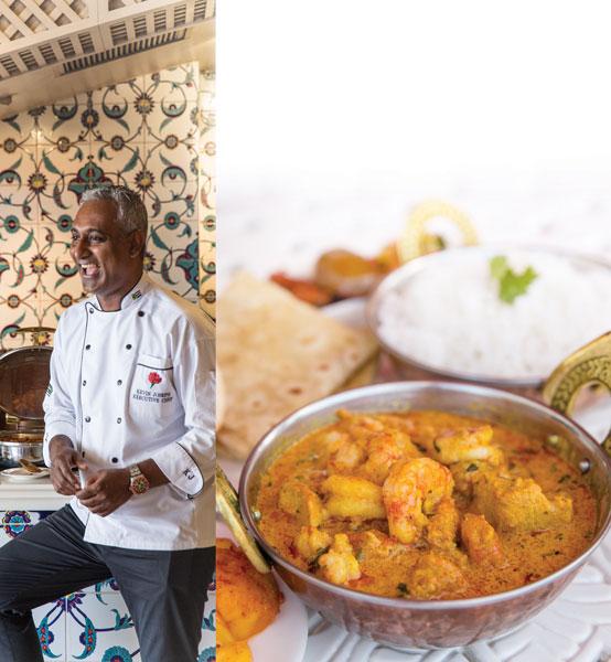 Creamy chicken prawn curry recipe