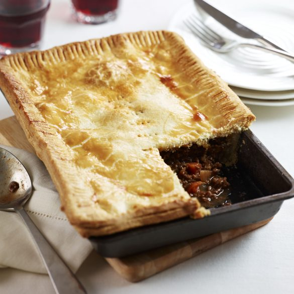 meat and onion pie recipe