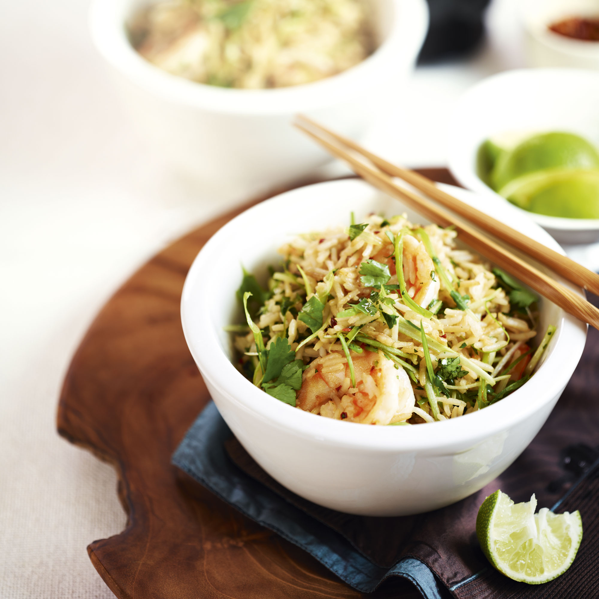 Prawn And Ginger Stir-Fry With Basmati Rice Recipe