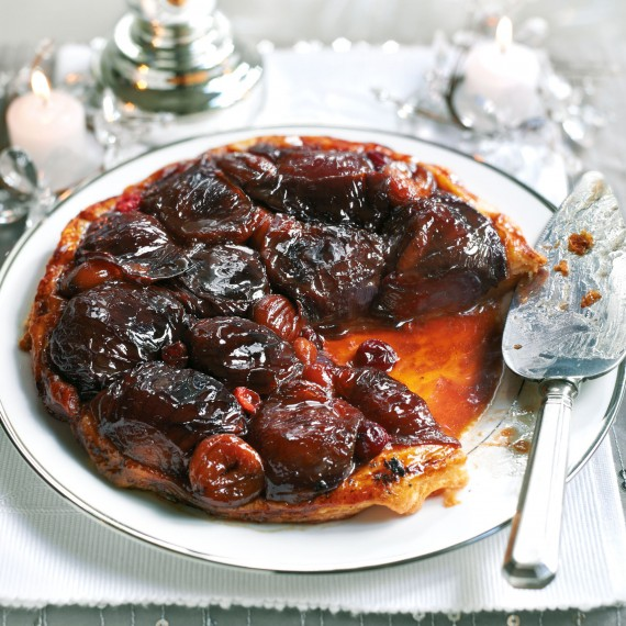 Red Onion Tarte Tatin Recipe