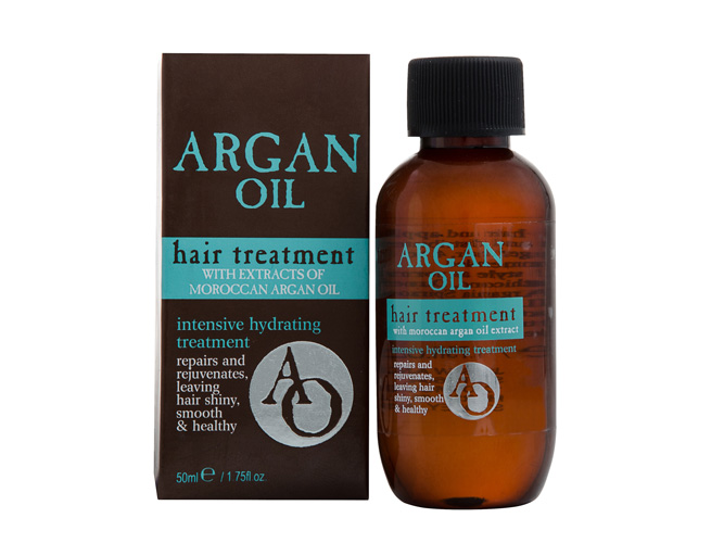 how to get shiny hair argan oil