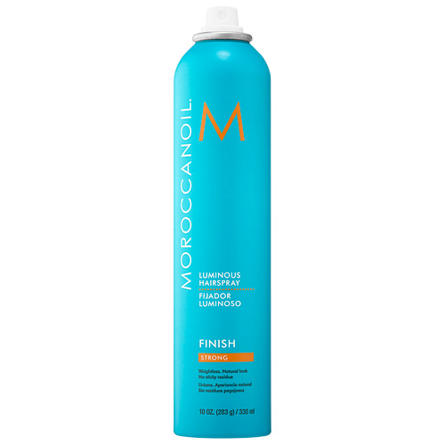 how to get shiny hair moroccanoil