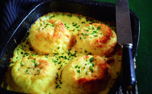 Twice-baked soufflés recipe
