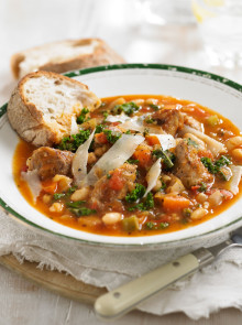Tuscan Sausage and Bean Soup Recipe