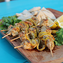 Siba's Chicken Kebabs recipe