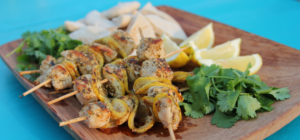Siba's Chicken Kebabs