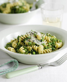 Fusilli with pesto recipe