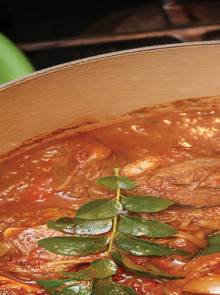 Jacqui's Lamb Knuckle Curry