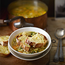 Winter vegetable soup recipe