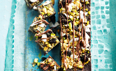 Chocolate and Coconut Fridge Cake
