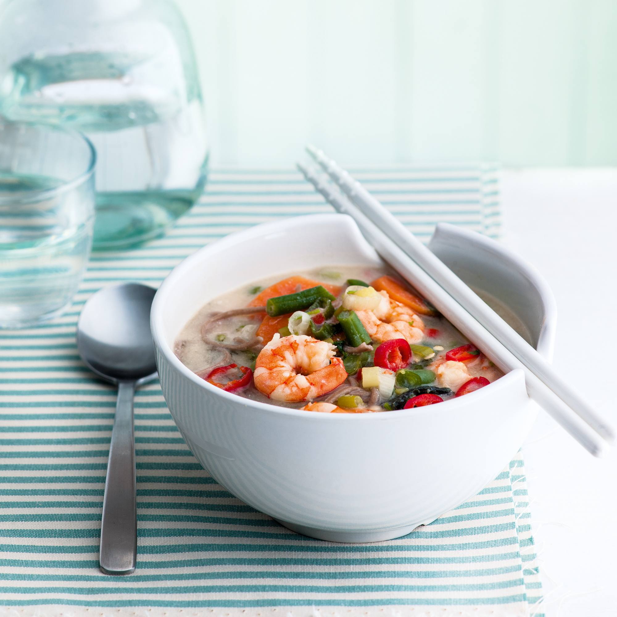 Miso Soup with Prawns recipe