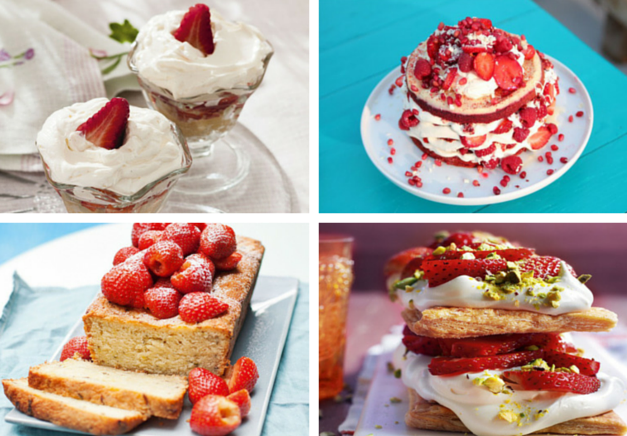 Our favourite strawberry recipes
