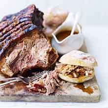 Slow-cooked, cider-spiced pulled pork recipe