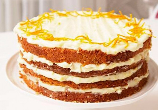 Mary Berry's orange layer cake