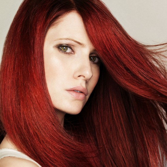 On Trend: Red hot hairstyles