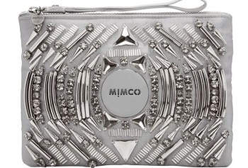 Mimco Metalic Clutch