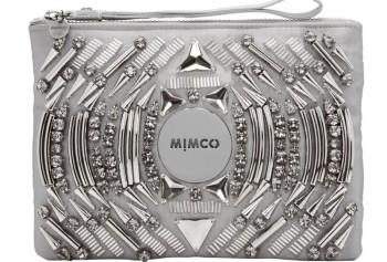 Mimco Metalic Clutch