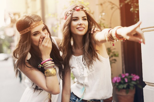 boho fashion girls