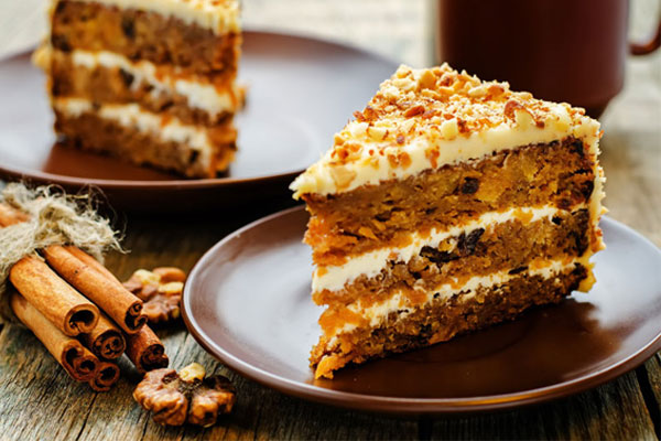 spring baking recipes carrot cake