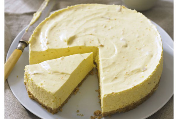 Spring Baking Recipes orange cheesecake