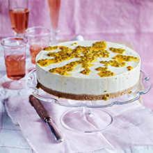 Passion Fruit Cheesecake recipe