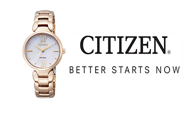 Win! One Of Two Citizen Eco-Drive Dress Watches, Valued At R3 499 Each