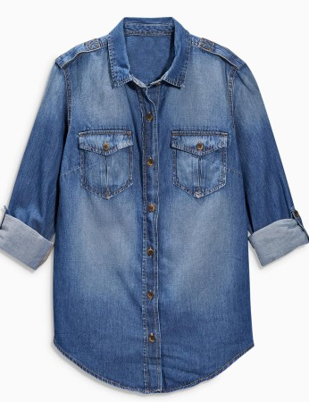 Denim shirt from Next