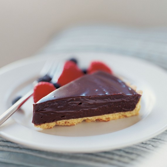 No-Cook Chocolate Tart