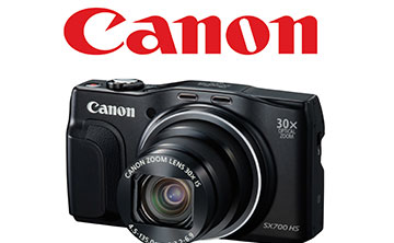 WIN 1 OF 2 CANON POWERSHOT SX700 HS CAMERAS, VALUED AT R3 700 EACH!