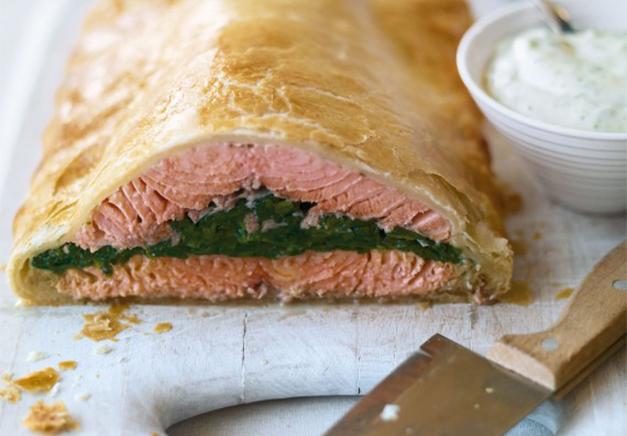 Salmon En Croute Recipe