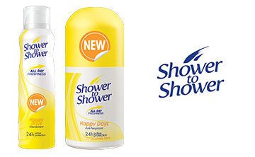 Win 1 of 3 shower to shower hampers, valued at R1 000 each!