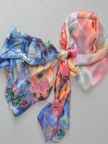 Silky-scarf