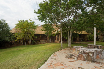 Camp - Tshugulu Lodge - Main Building - Outside View