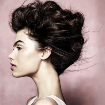 wedding guest hairstyles updo