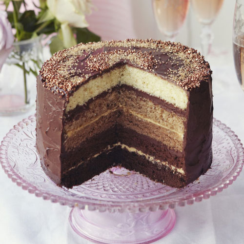 chocolate cake recipes chocolate ombre cake