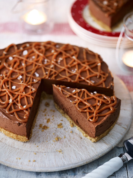 Salted Caramel Chocolate Torte Recipe