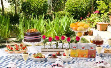 Get set for a garden tea party!