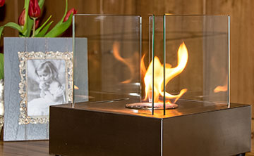 Go green with a 30% discount on one of two ethanol fireplaces from 1Green