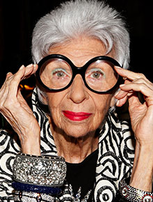 5 things to learn from Iris Apfel