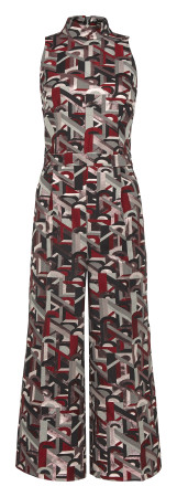 River Island_R1099_Abstract Sleeveless Jumpsuit_Exclusively Available at Flagship and Selected Edgars Stores